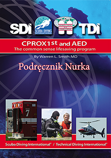 Cprox 1st and AED-Podręcznik nurka